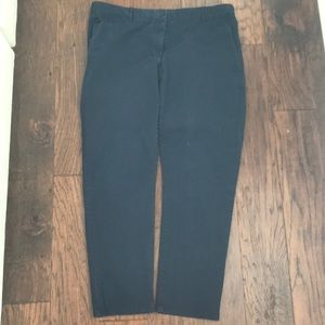 Navy blue skinny pants